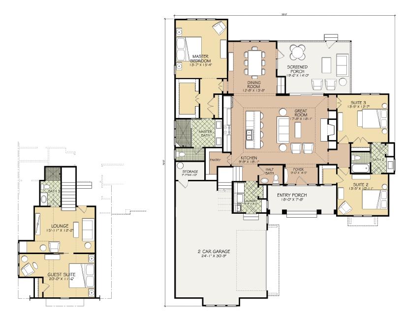 Hagood Homes Calibogue Floor Plan