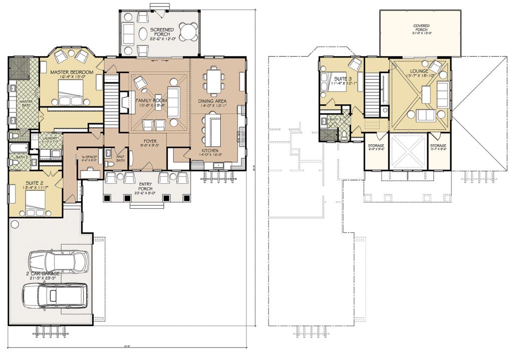 Custom Built Homes North Carolina-Floorplan