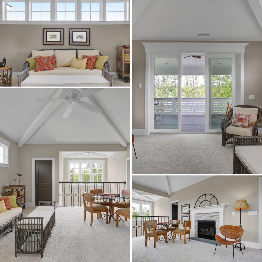 Custom Built Homes North Carolina-Loft
