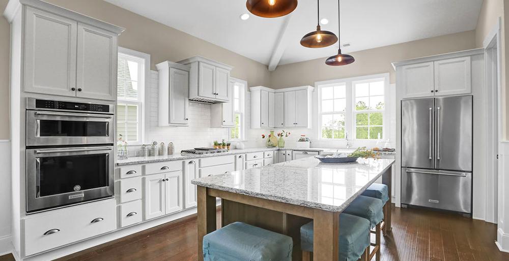 Custom Built Homes North Carolina-Kitchen